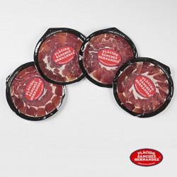 4 platos de jamón de cebo campo ibérico loncheado