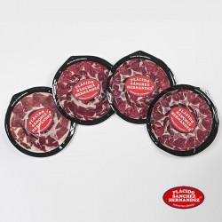 4 platos de paleta de cebo campo ibérica