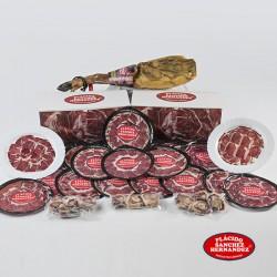Jamón de cebo ibérico loncheado 8,5 Kg