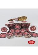 Paleta de bellota ibérica loncheada 6 Kg