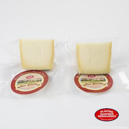 2 cuñas de queso semicurado puro de oveja