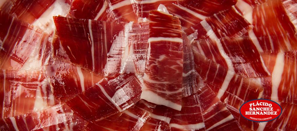 Plato de jamón ibérico de bellota Plácido